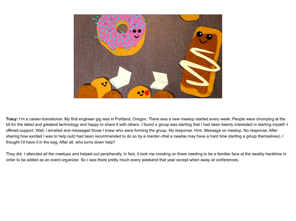 placeholder The Tracy as Donut, with other donu...