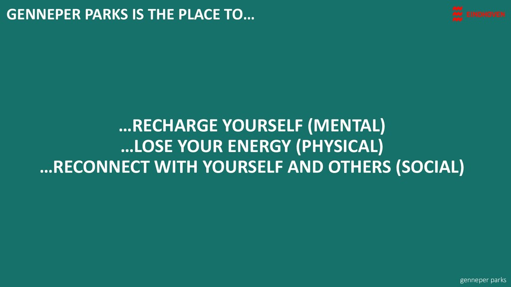 …RECHARGE YOURSELF (MENTAL) …LOSE YOUR ENERGY (...