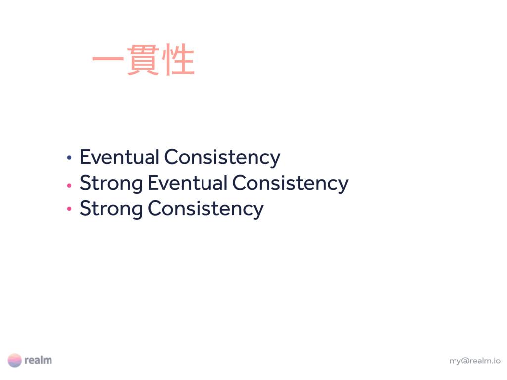 my@realm.io Eventual Consistency Strong Eventua...