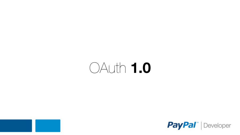 OAuth 1.0