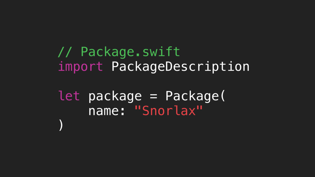 // Package.swift import PackageDescription let ...
