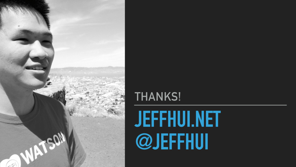 JEFFHUI.NET @JEFFHUI THANKS!
