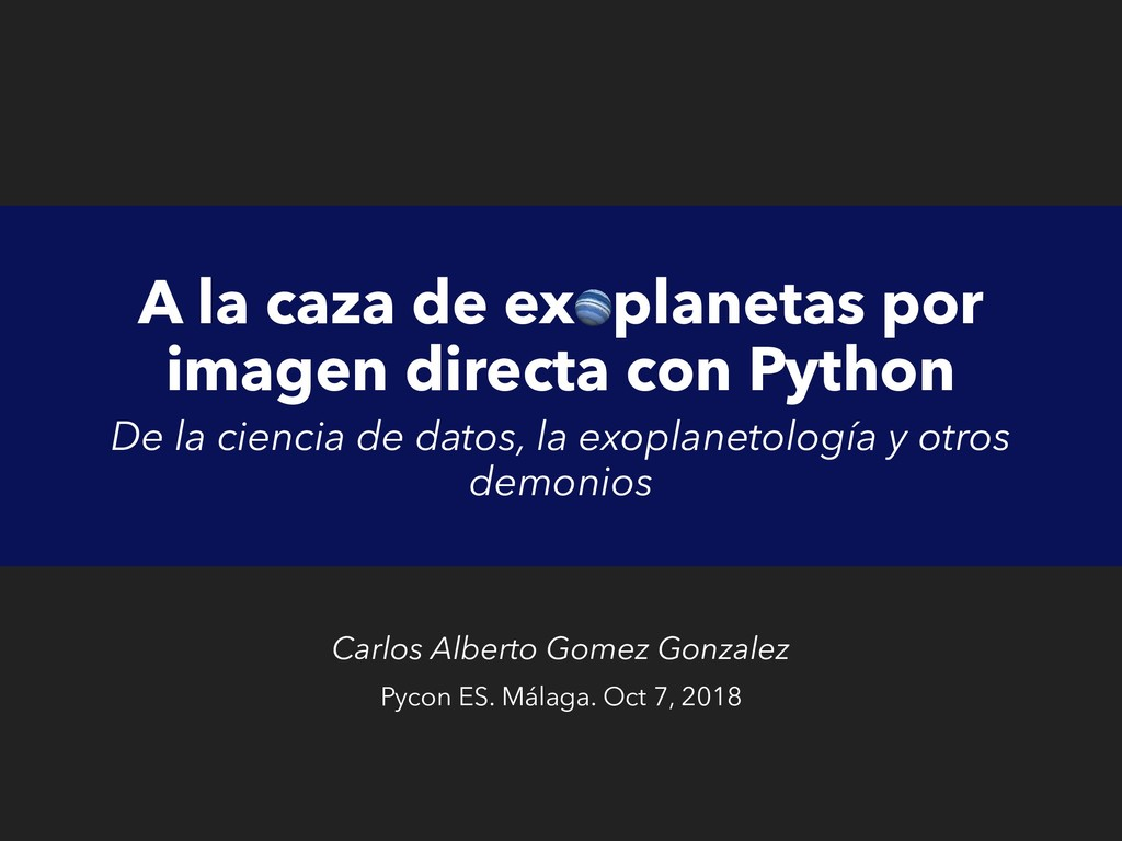 A la caza de exoplanetas por imagen directa con...