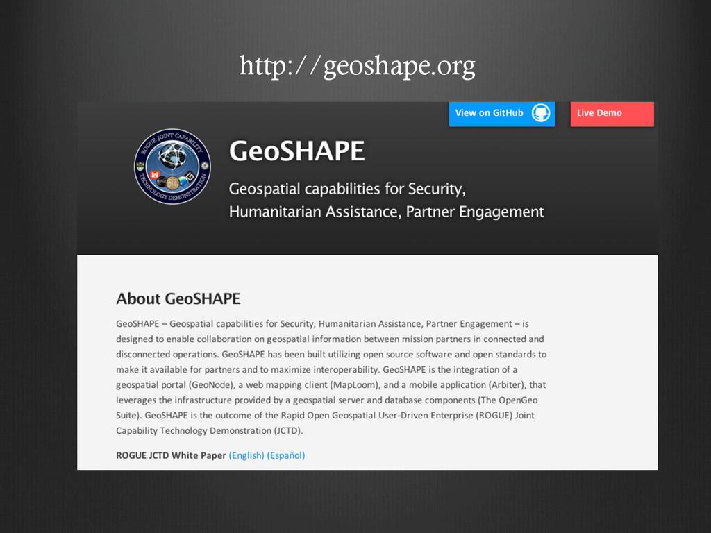 http://geoshape.org