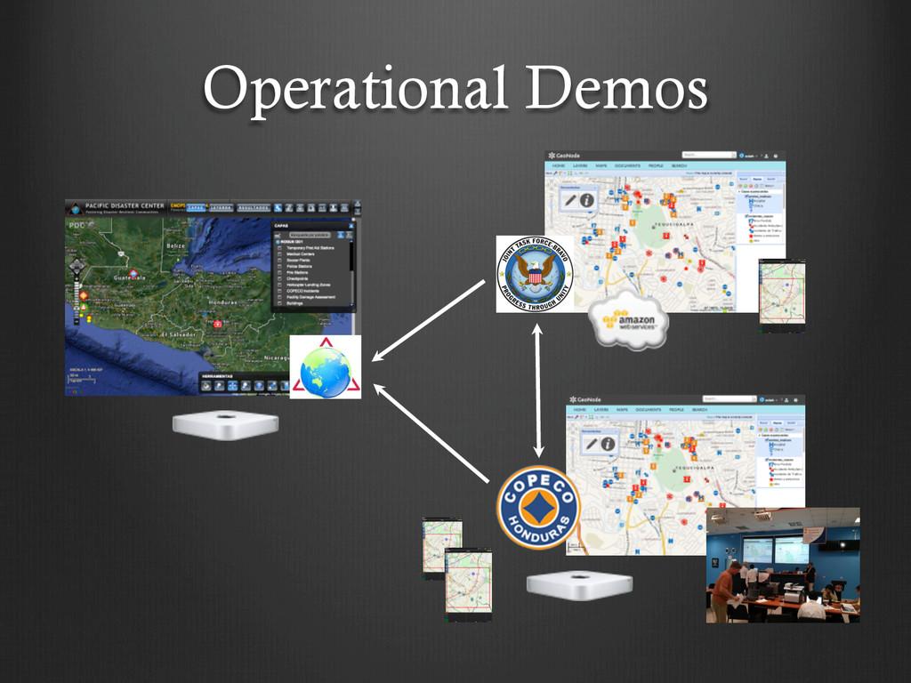 Operational Demos