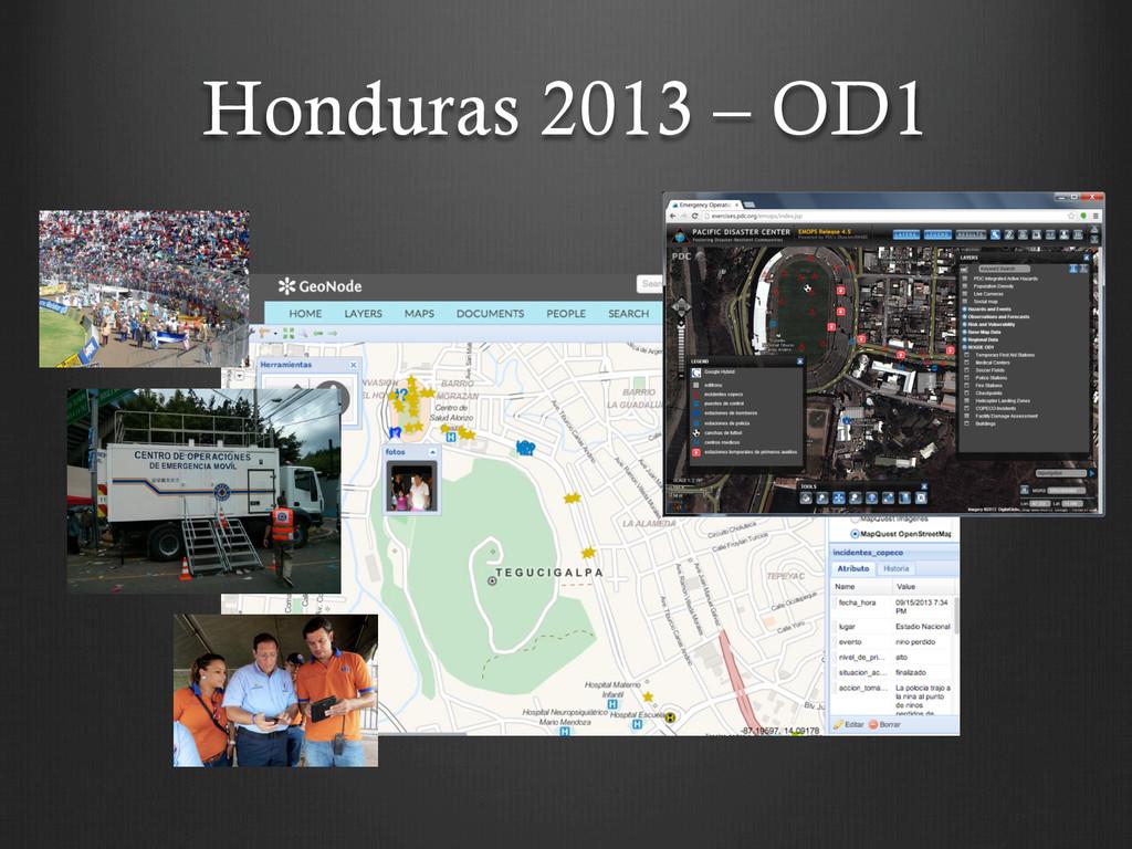 Honduras 2013 – OD1