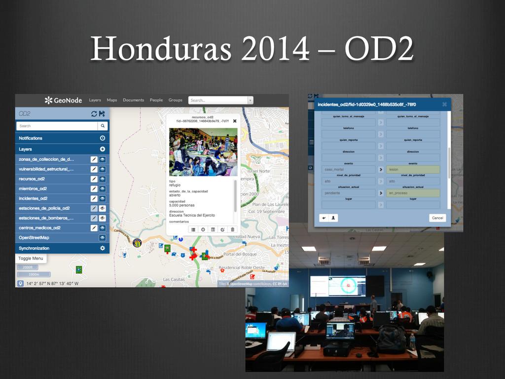 Honduras 2014 – OD2