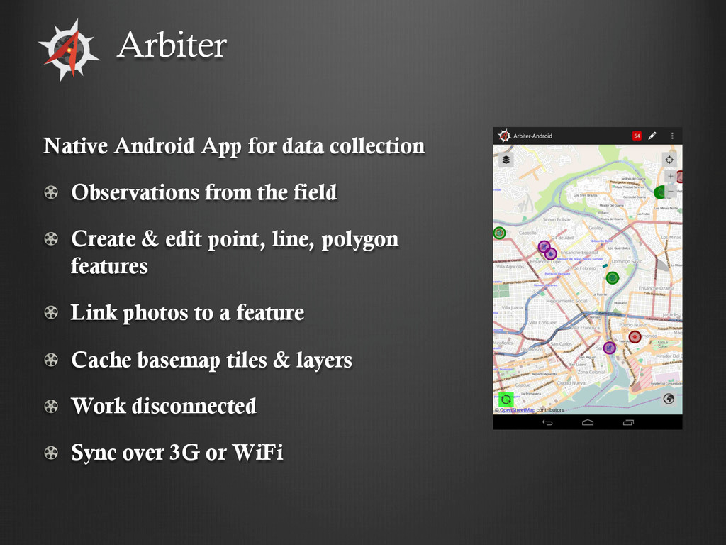 Native Android App for data collection !   Obse...
