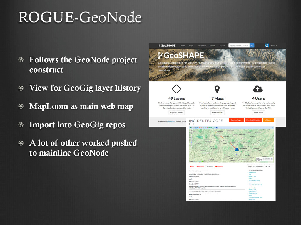 !   Follows the GeoNode project construct !   V...