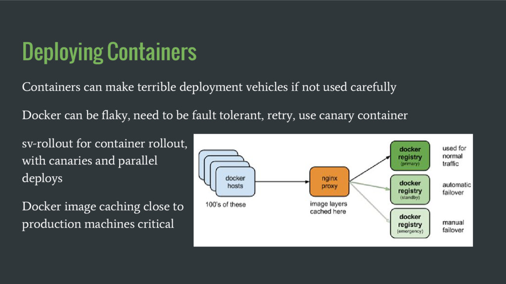 Deploying Containers Containers can make terrib...