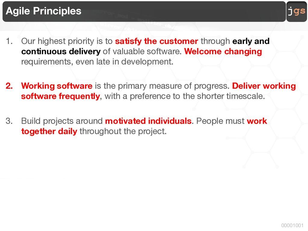 jgs 00001001 Agile Principles 1. Our highest pr...