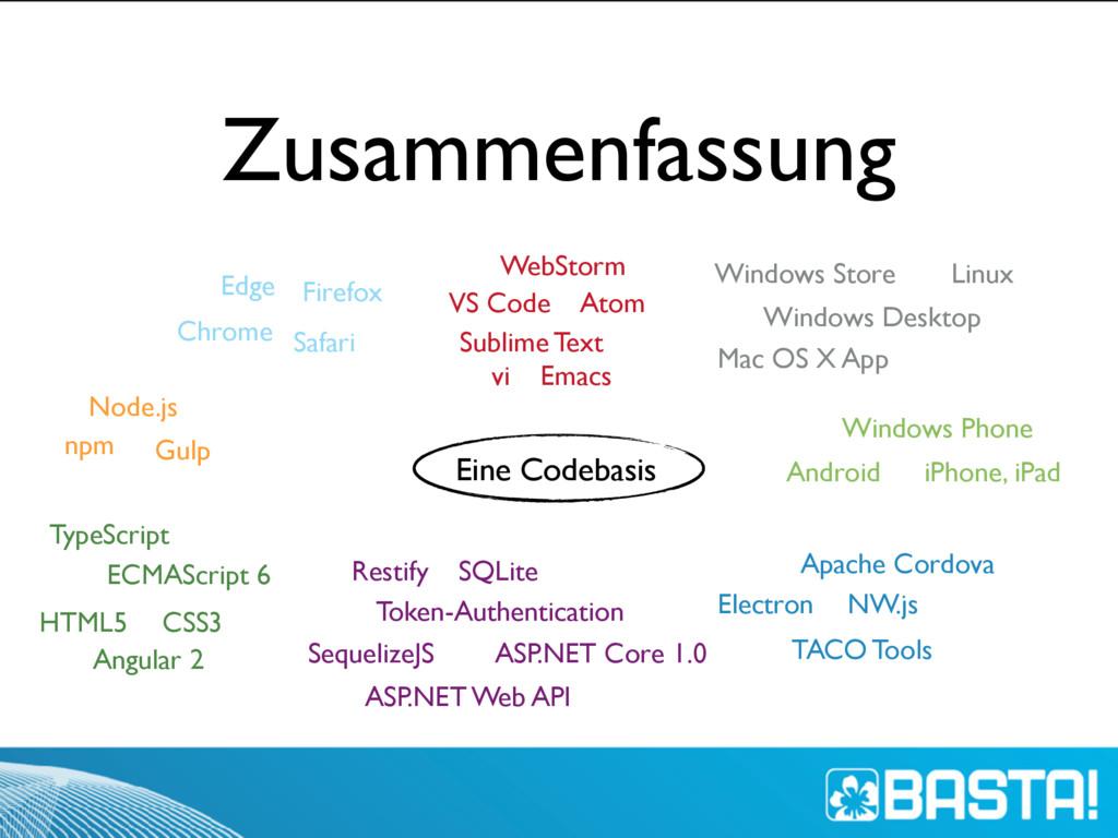 Zusammenfassung Windows Phone iPhone, iPad Andr...