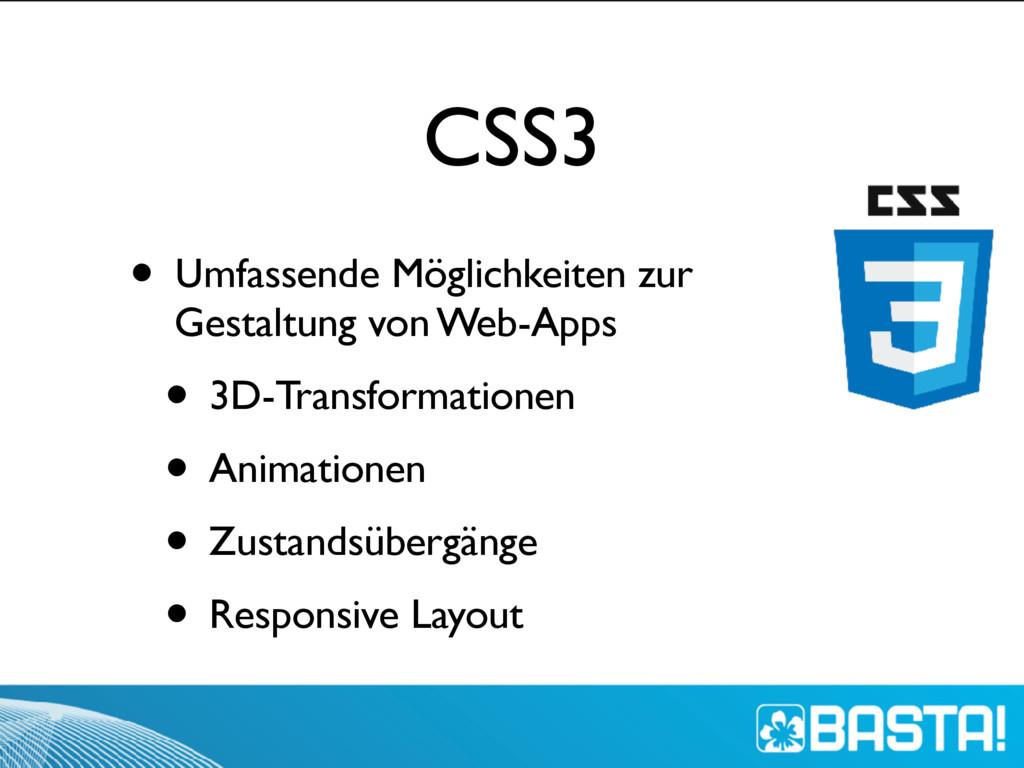 CSS3 • Umfassende Möglichkeiten zur Gestaltung ...