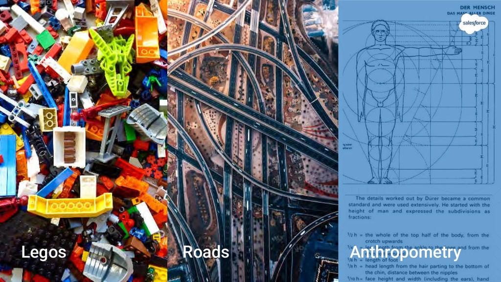 Anthropometry Roads Legos