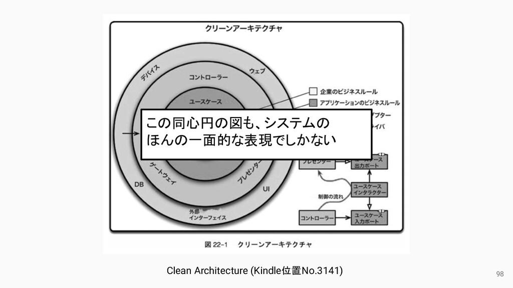 98 Clean Architecture (Kindle位置No.3141) この同心円の図...