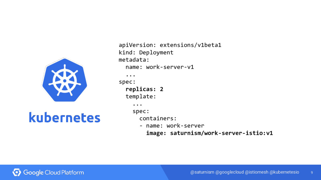 9 @saturnism @googlecloud @istiomesh @kubernete...