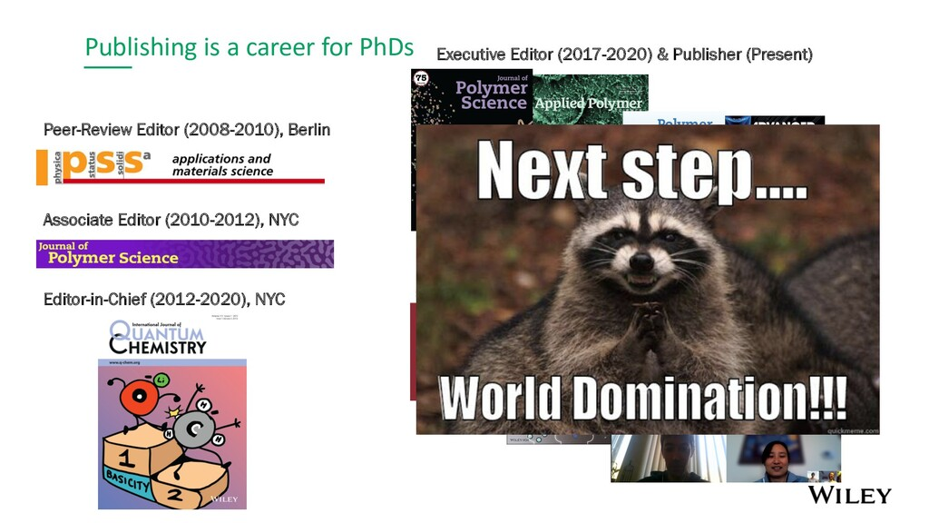 Publishing is a career for PhDs Peer-Review Edi...