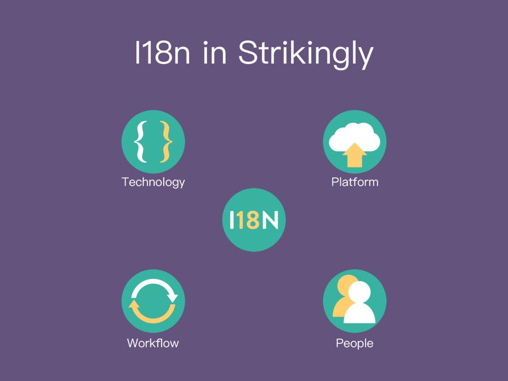 I18n in Strikingly Platform Workflow People Tech...