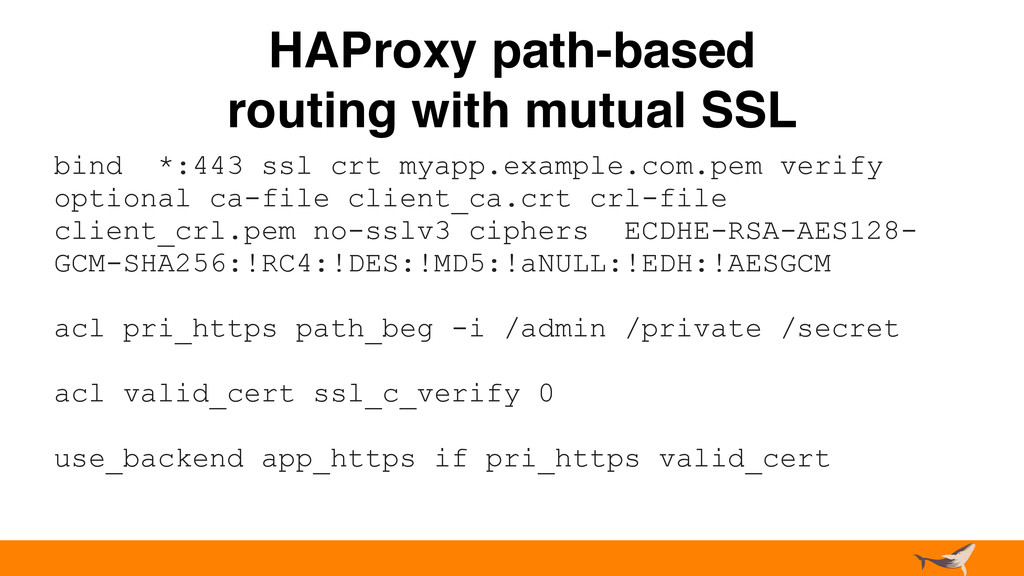 HAProxy path-based routing with mutual SSL bind...
