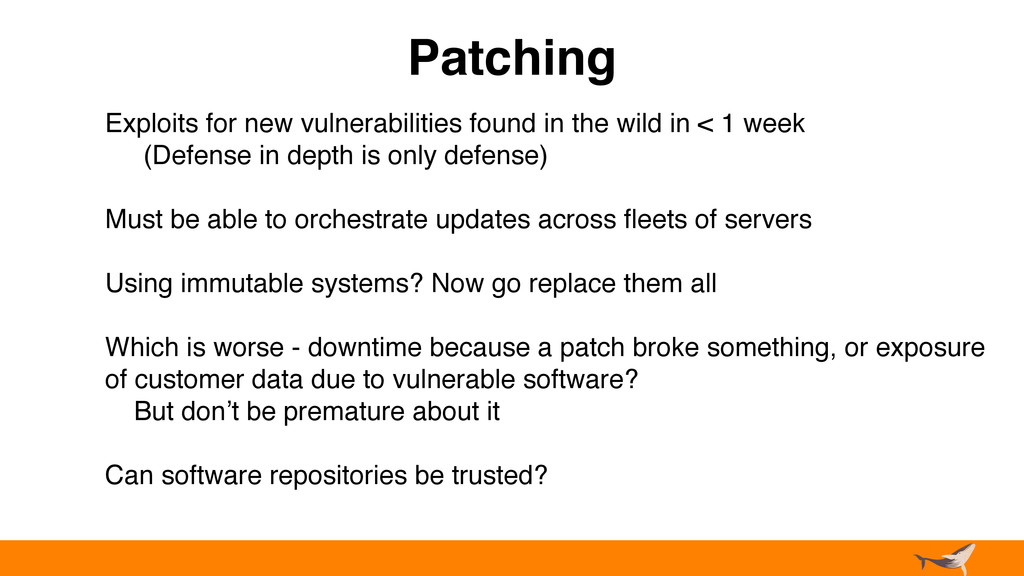 Patching Exploits for new vulnerabilities found...