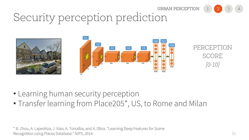 31 Security perception prediction * B. Zhou, A....