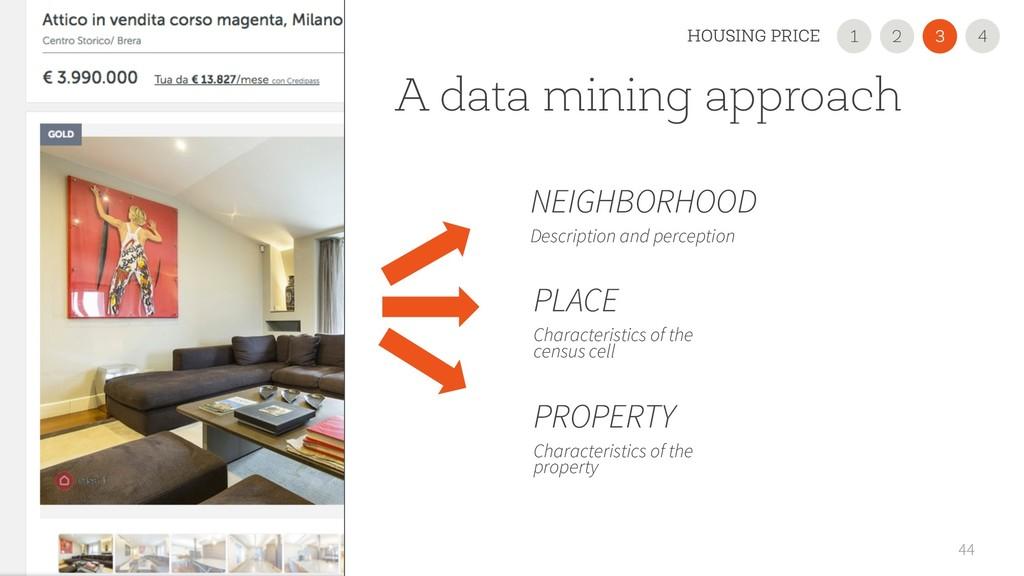 A data mining approach 44 PLACE Characteristics...