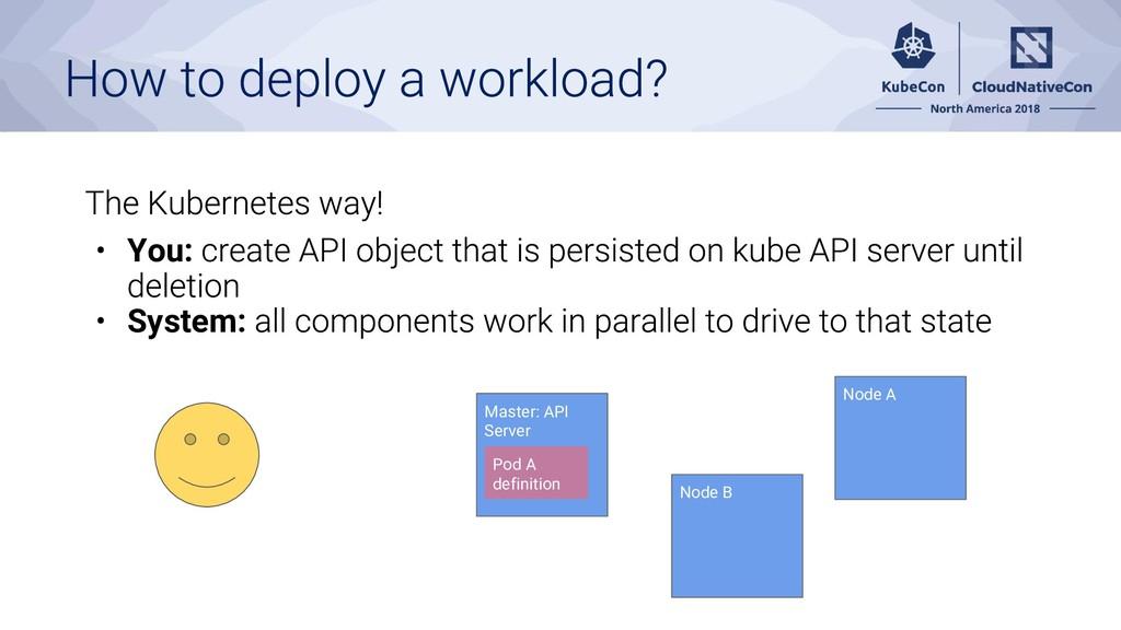 You: System: Master: API Server Node A Node B P...