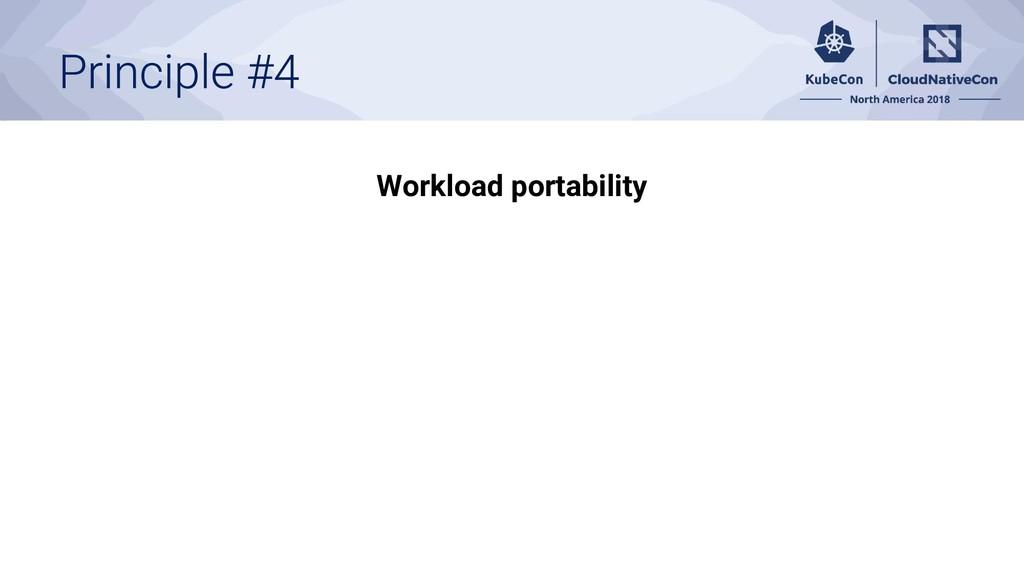 Workload portability