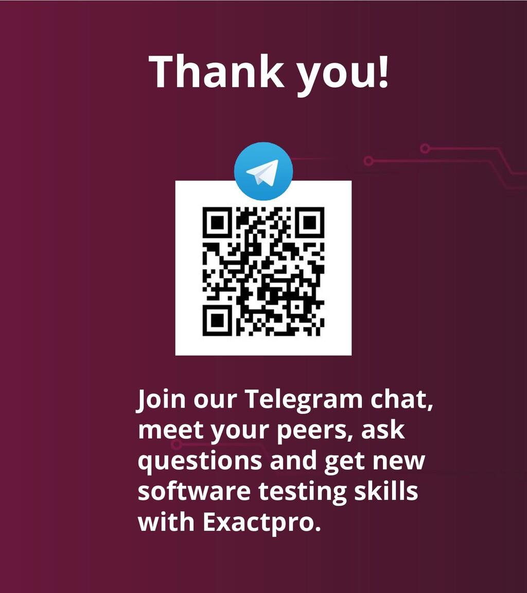 Build Software to Test Software exactpro.com Jo...