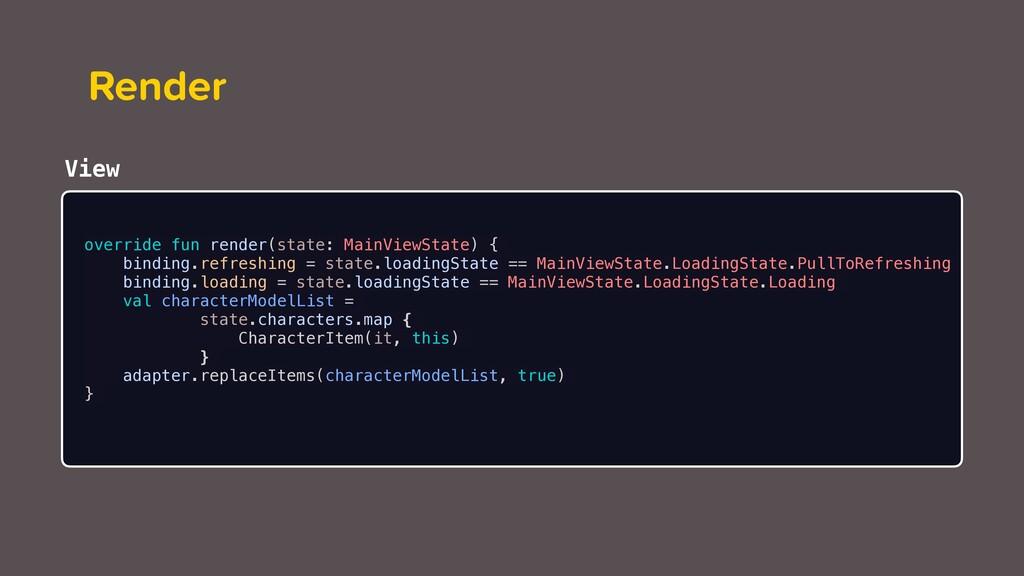 Render override fun render(state: MainViewState...