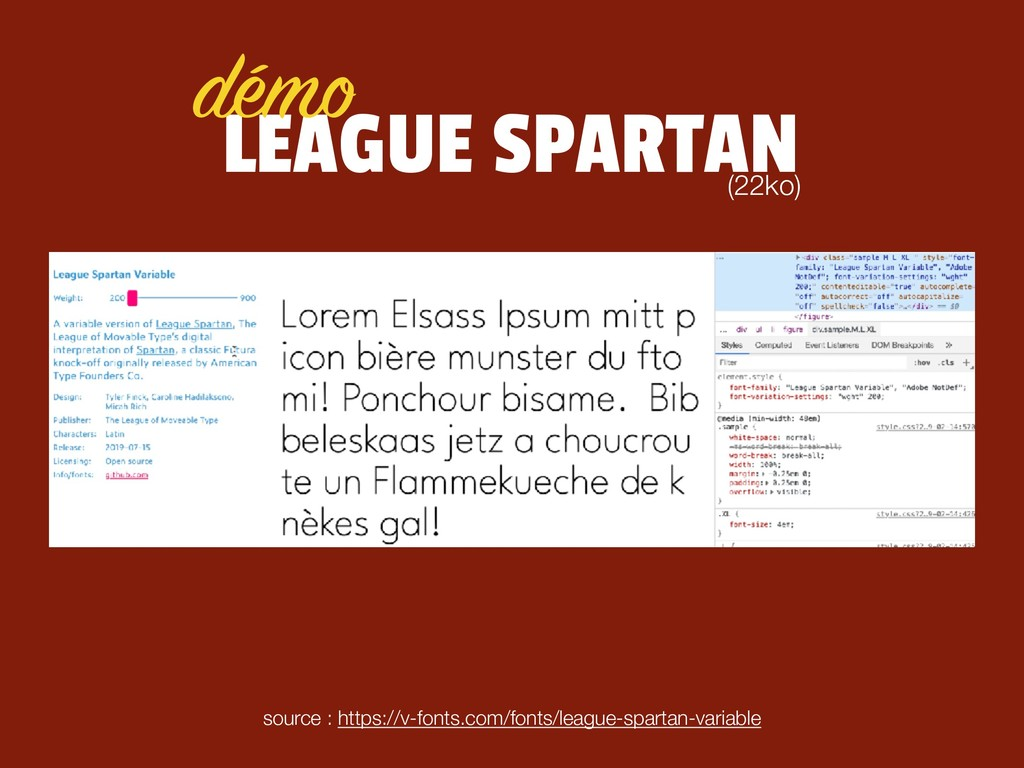 LEAGUE SPARTAN source : https://v-fonts.com/fon...