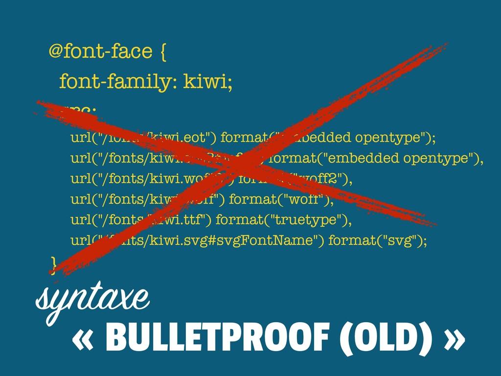 """@font-face { font-family: kiwi; src: url(""""/fo..."""