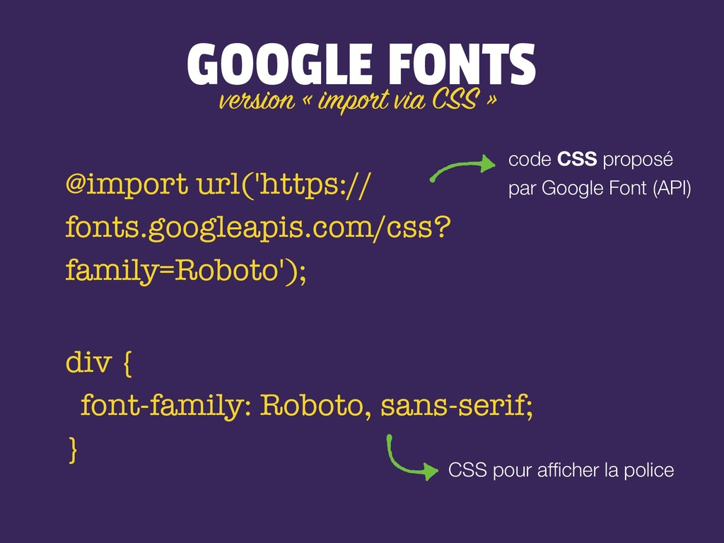 GOOGLE FONTS @import url('https:// fonts.google...