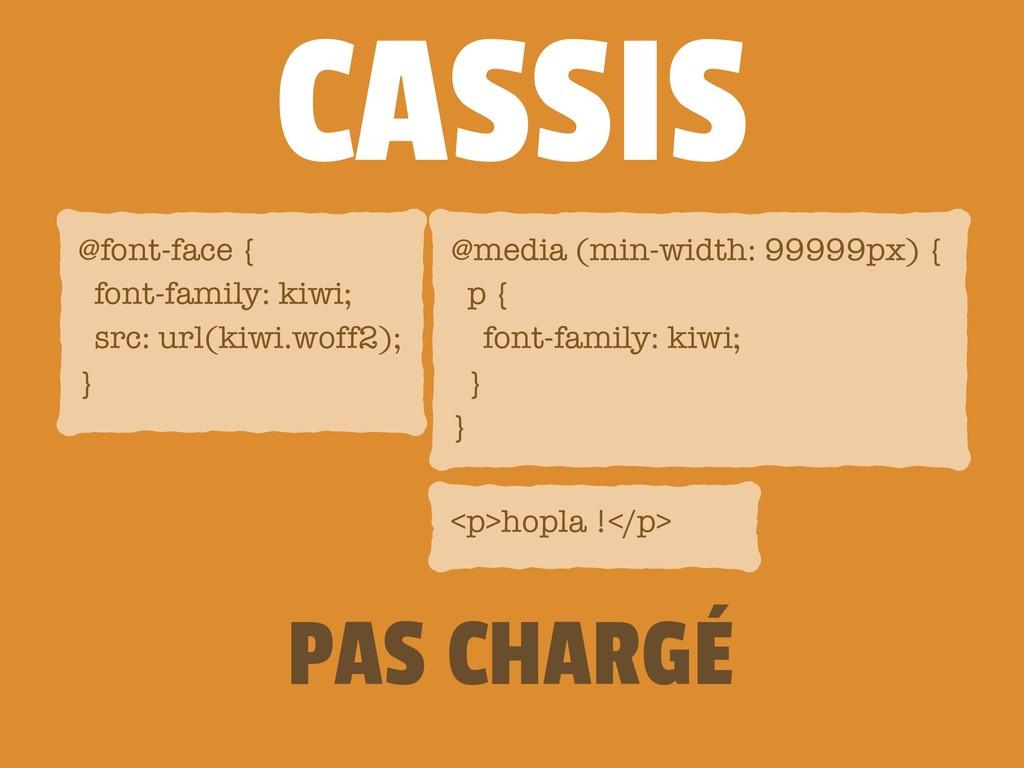 CASSIS <p>hopla !</p> @media (min-width: 99999p...