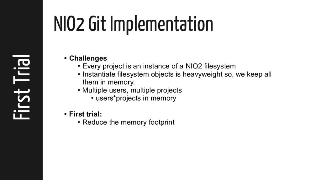 First Trial NIO2 Git Implementation • Challenge...
