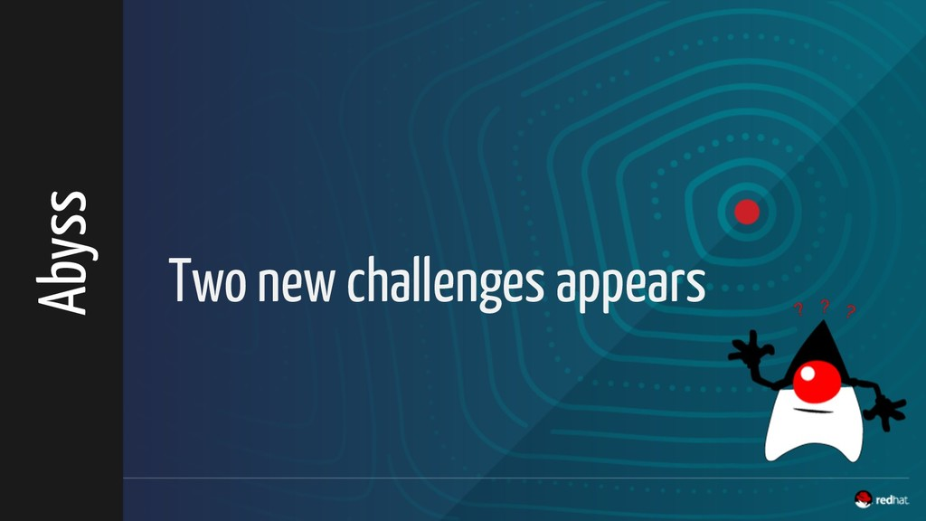 Two new challenges appears Abyss