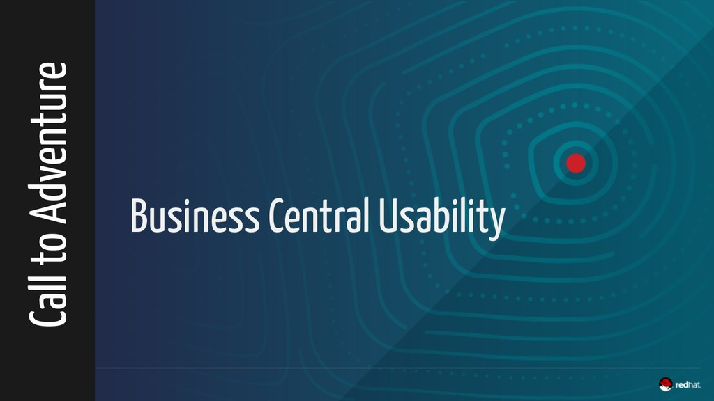 Business Central Usability Call to Adventure