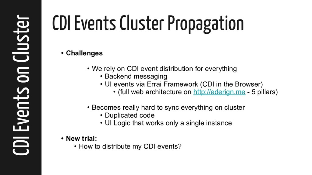 CDI Events on Cluster CDI Events Cluster Propag...