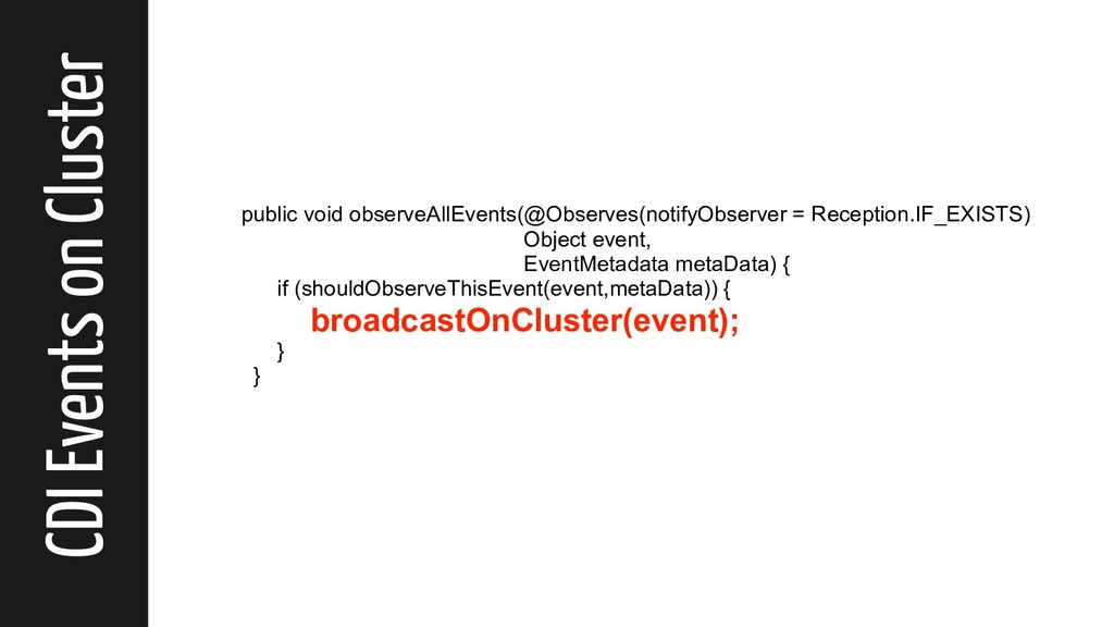 CDI Events on Cluster public void observeAllEve...