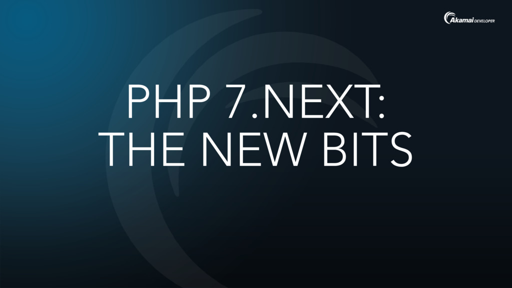 PHP 7.NEXT: 