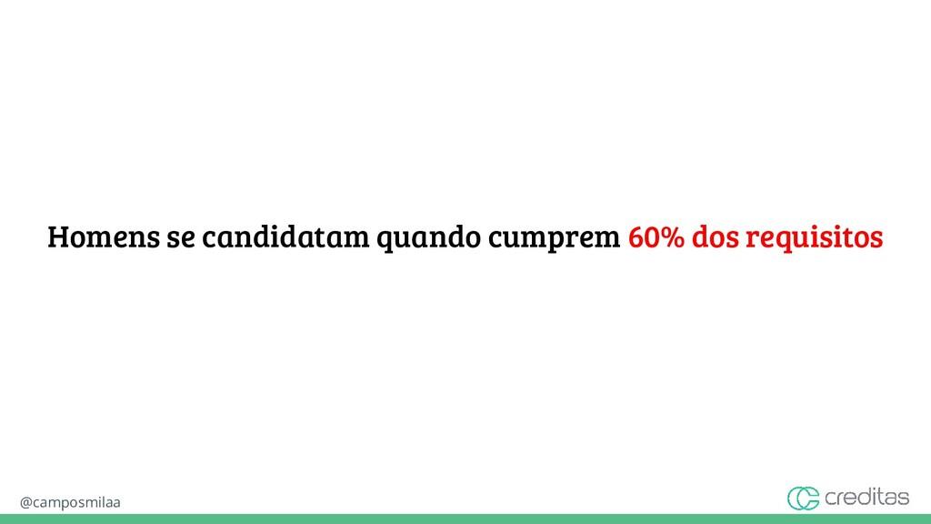 @camposmilaa Homens se candidatam quando cumpre...