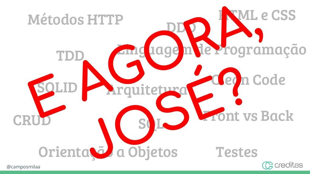 @camposmilaa Front vs Back Métodos HTTP SQL HTM...