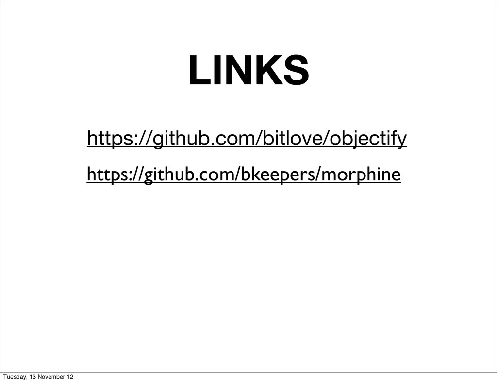 LINKS https://github.com/bitlove/objectify http...