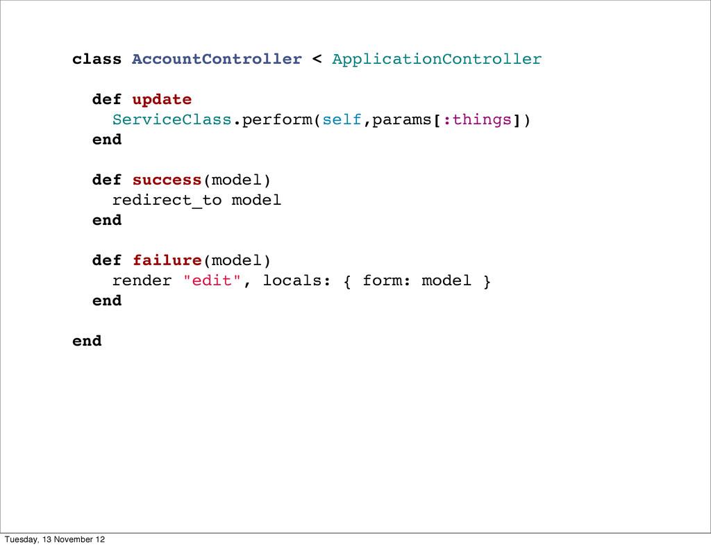 class AccountController < ApplicationController...