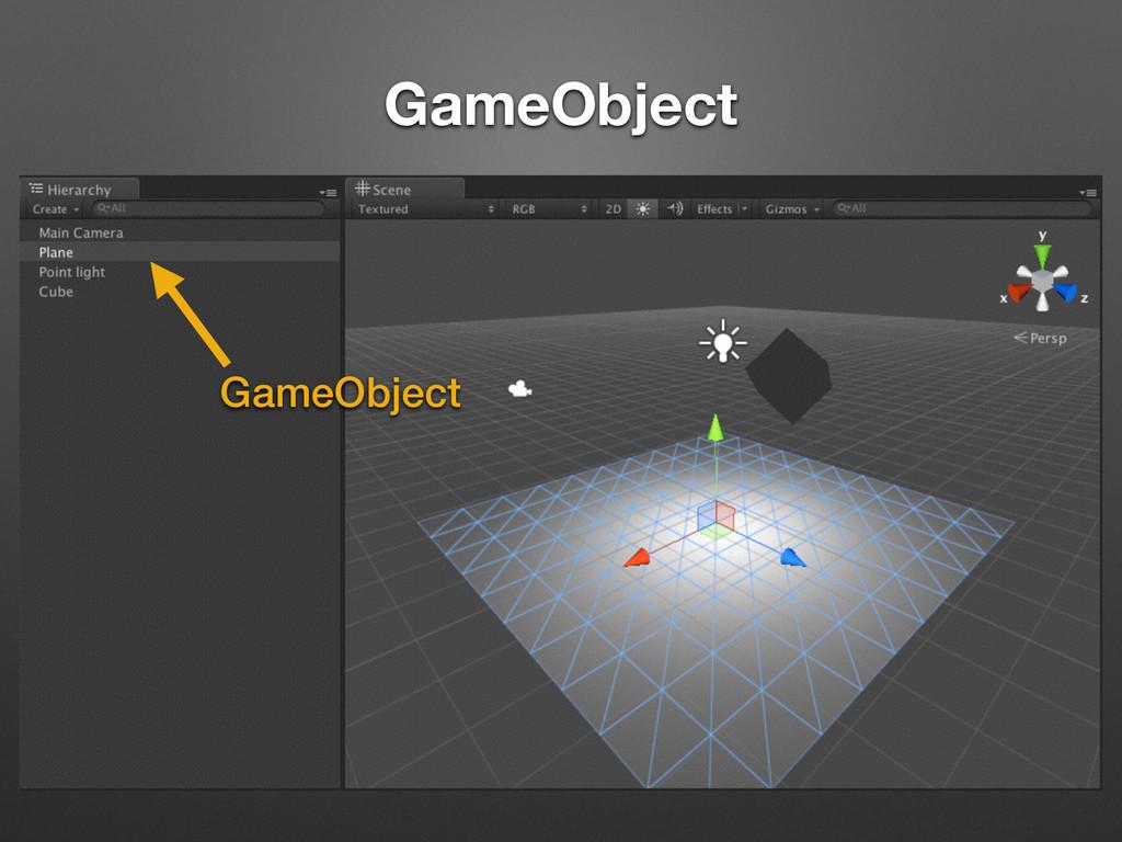 GameObject GameObject