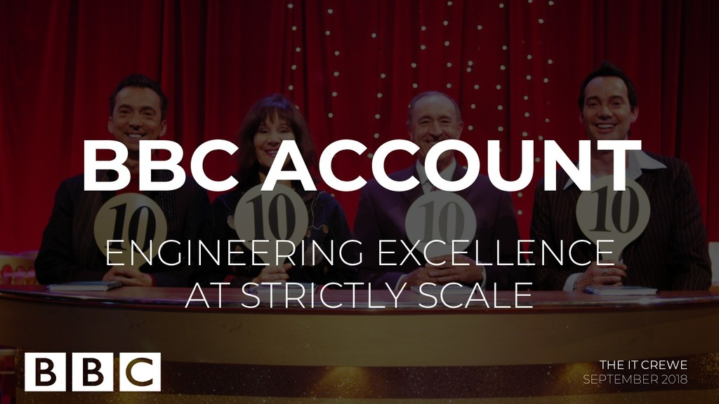 BBC ACCOUNT ENGINEERING EXCELLENCE AT STRICTLY ...