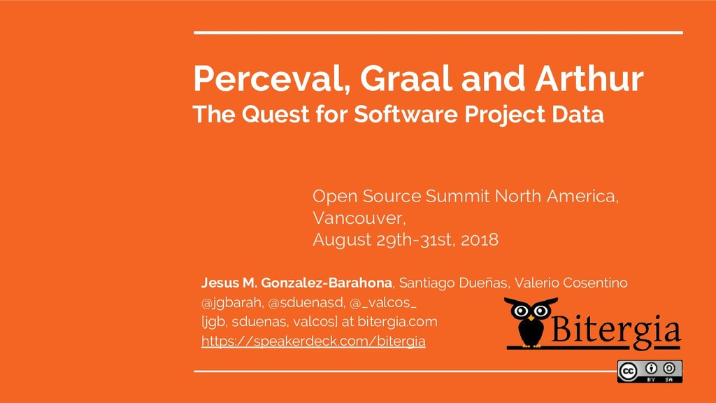 Perceval, Graal and Arthur The Quest for Softwa...