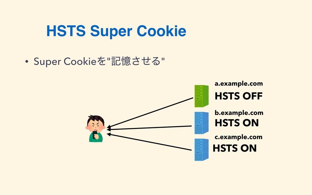 "HSTS Super Cookie • Super CookieΛ""هԱͤ͞Δ"" HSTS O..."