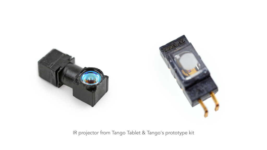 IR projector from Tango Tablet & Tango's protot...