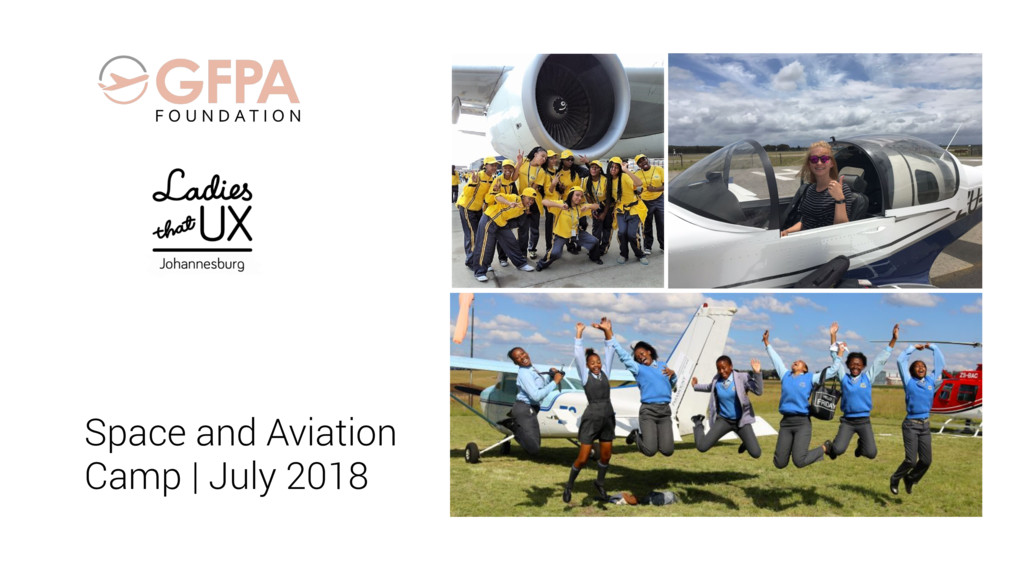 Space and Aviation Camp | July 2018